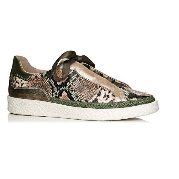 softwaves sneakers in snake very comfort
