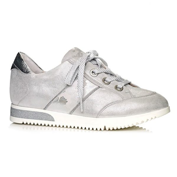 Softwaves Women sneakers in white with camuflage