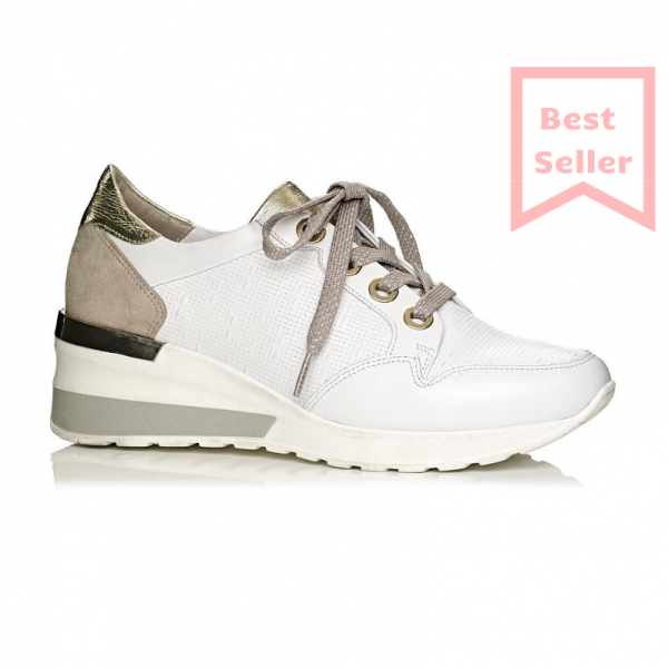 Buy wedge sneakers in white, very comfot