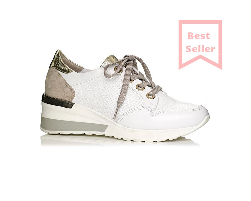 Buy wedge sneakers in white, very comfot