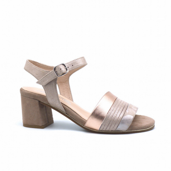 buy heel sandals from softwaves, very comfort in nude