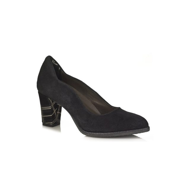 BUY ONLINE HEEL SHOES VERY COMFORT BLACK