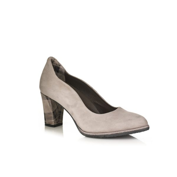 BUY ONLINE HEEL SHOES VERY COMFORT GREY