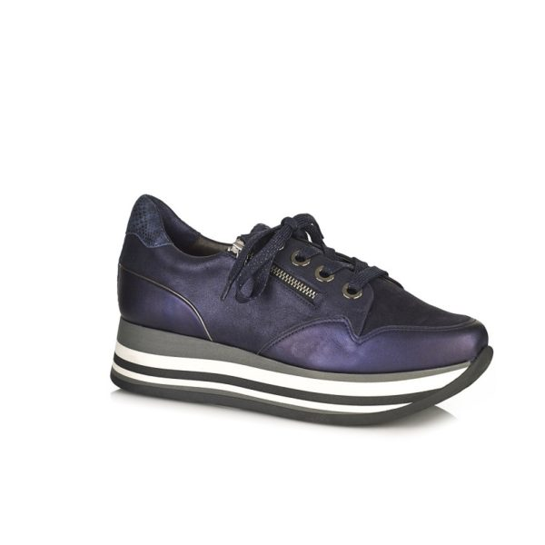 BUY ONLINE FLAT SNEAKERS VERY COMFORT STRETCH LEATHER