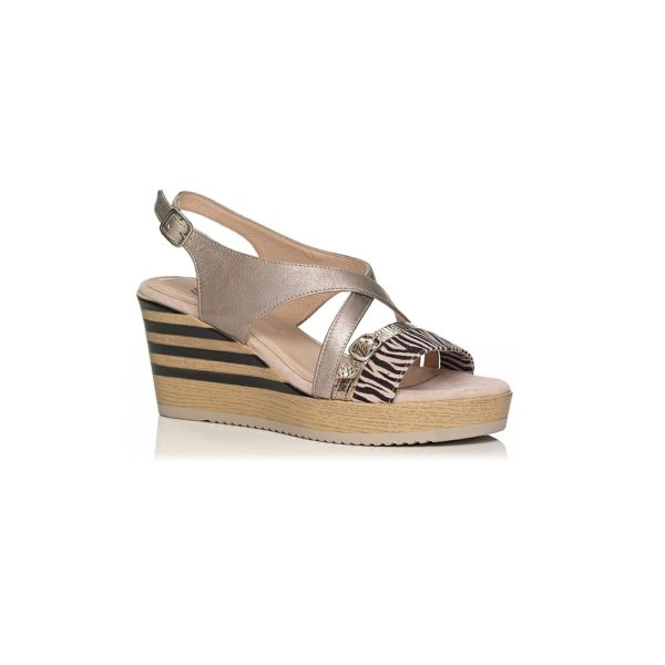 WEDGE SANDALS SOFTWAVES WITH COMFORT AND SOFT