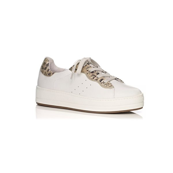 SOFTWAVES FLAT SNEAKERS IN WHITE VERY COMFORT