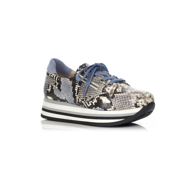 Softwaves Wedge Sneakers in Python Jeans, very comfort and light