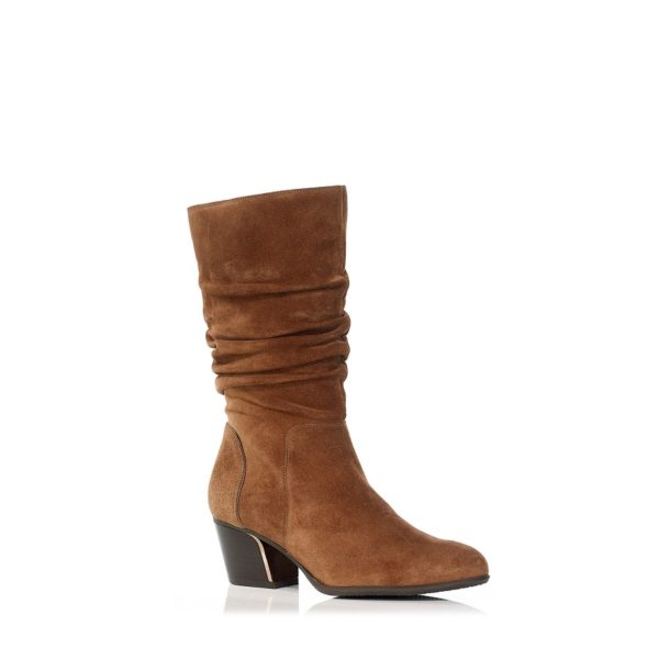 HIGHT BOOTS WITH WESTERN LOOK