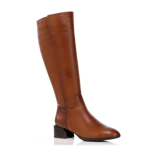 HIGHT BOOTS IN COGNAC, VERY COMFORT AND LIGHT