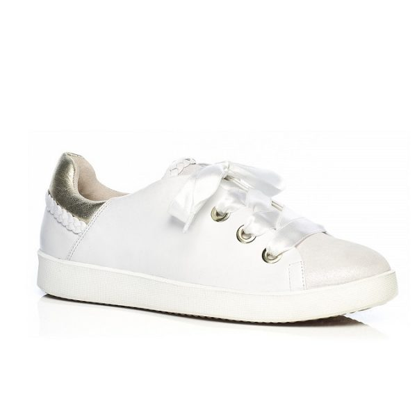 WOMAN SNEAKERS 7.87.33.01 LEATHER COMFORT