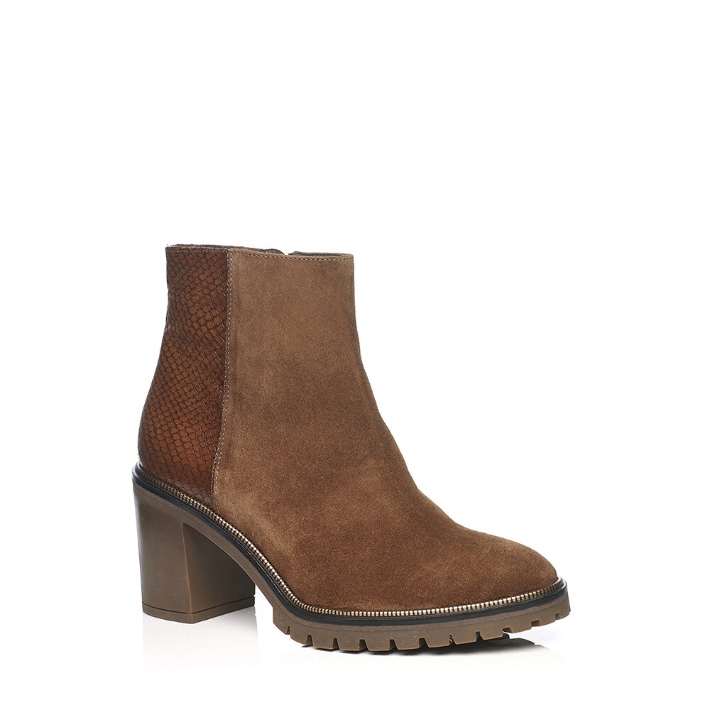 SOFTWAVES HELL BOOTS IN COGNAC
