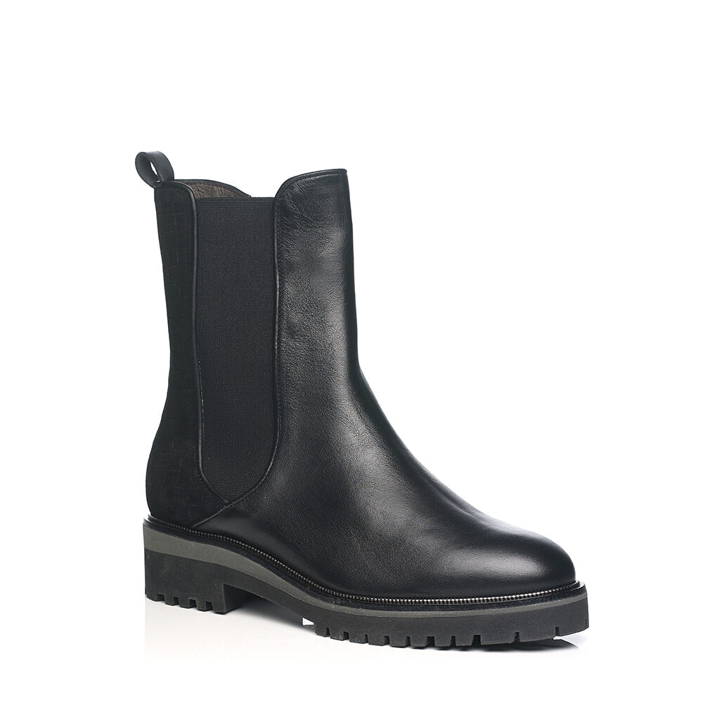 SOFTWAVES CHELSEA BOOTS IN BLACK, VERY LIGHT AND SOFT