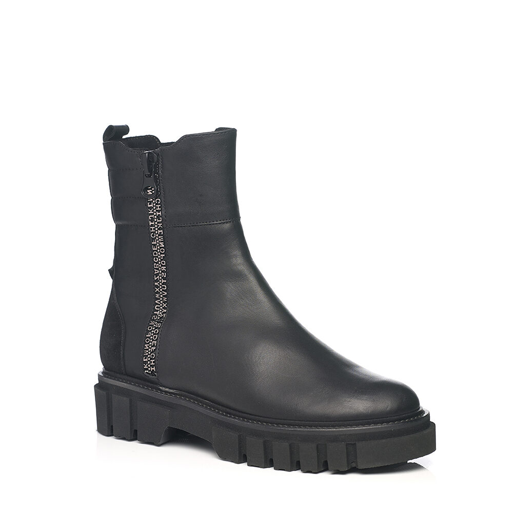SOFTWAVES BOOTS IN NAPA BLACK VERY SOFT AND LIGHT